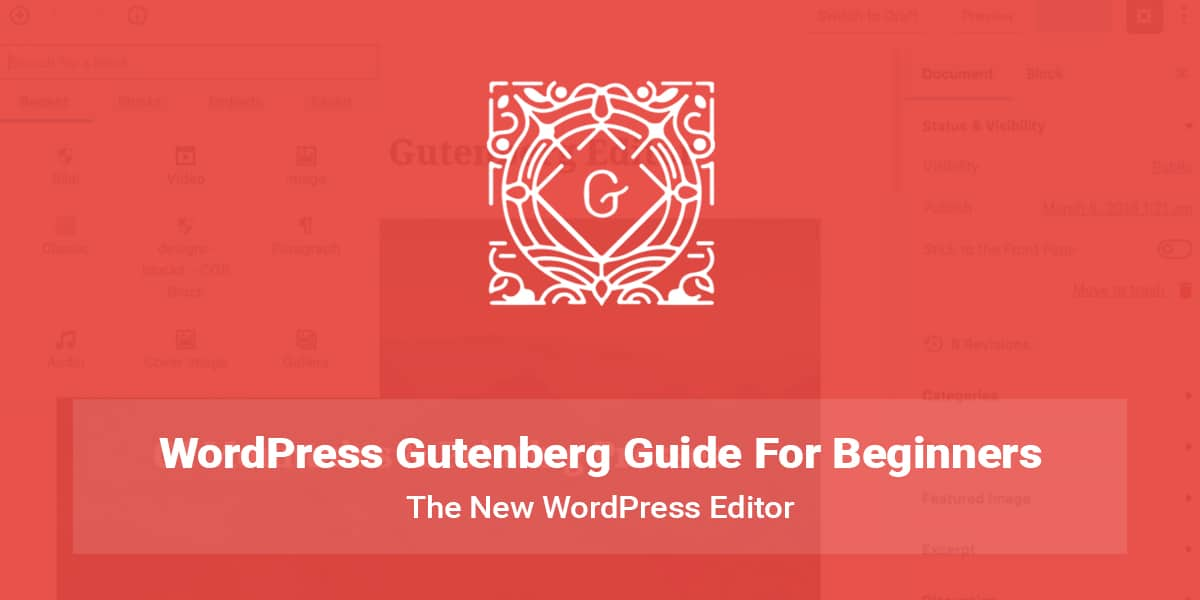WordPress Gutenberg Guide for Beginners